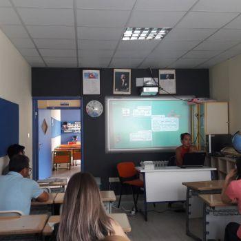 Okul Eğitimlerimizden Görüntüler