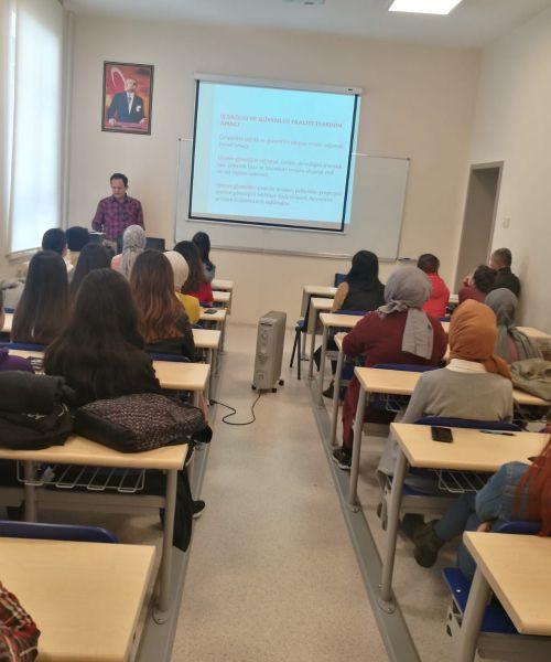 Ankara Üniversitesi Kızılcahamam Sağlık Hizmetleri MYO Eğitimimizden Görüntüler